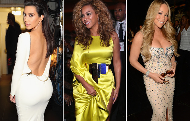 Kim Kardashian, Beyonce & Mariah Carey Stun at BET Awards!