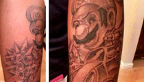 Sean Kingston -- LET'S-A-GO!!! Get a Mario Kart Tattoo