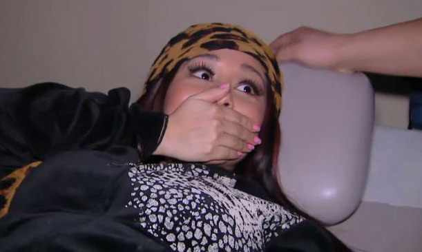 "Video: Snooki's UltraSound Reaction -- ""Ewwww!"""