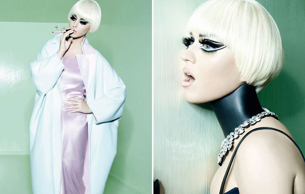 Katy Perry Goes Gaga for Vogue Italia!