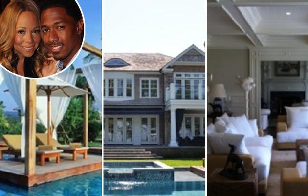 Mariah Carey and Nick Cannon: Hot Hamptons Home
