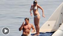Scarlett Johansson -- Tanning Playmate Mystery