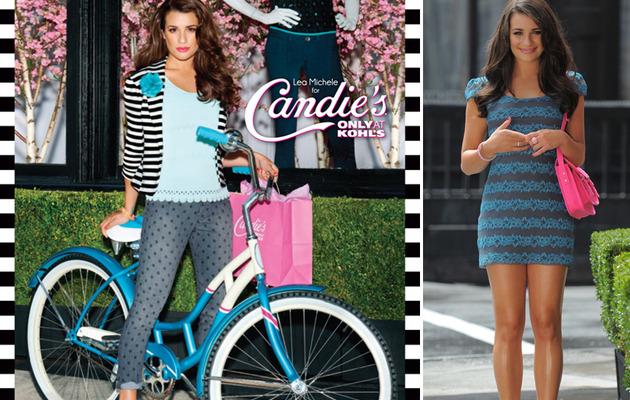 See Lea Michele's Sassy New Candie's Ads!