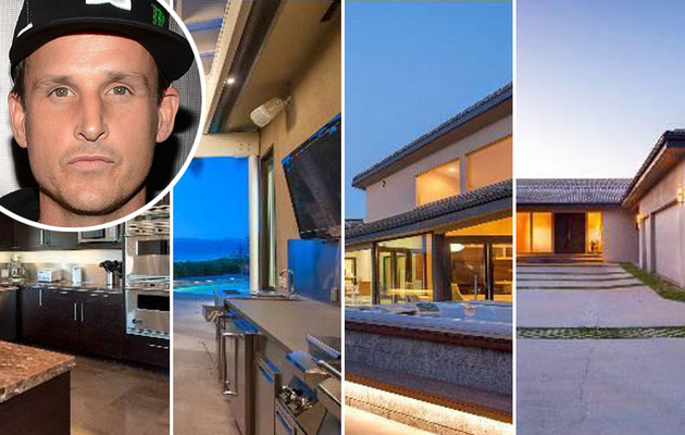 Rob Dyrdek's Hot New Hollywood Hills Abode!