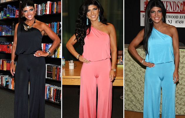 Teresa Giudice Makes Same Fashion Faux Pas -- For the Third Time!