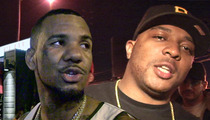 The Game -- My Homie ALSO Beat Up 40 Glocc ... On Tape