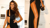 Supermodel Izabel Goulart -- Takes the Jolie Leg to New Heights!