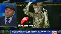 Piers Morgan & CNN -- Whitney Houston Has a Penis