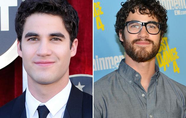 """Glee"" Star Darren Criss: Better Shaved or Scruffy?"