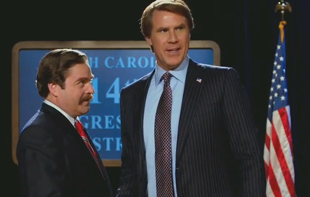 "Exclusive With Will Ferrell and Zach Galifianakis on ""The Campaign""!"