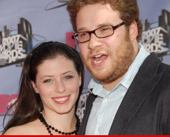Seth Rogen's Wife -- I Have an Unstable, Delusional ...
