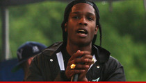 Rapper A$AP Rocky -- Arrested After Brawl with Photogs
