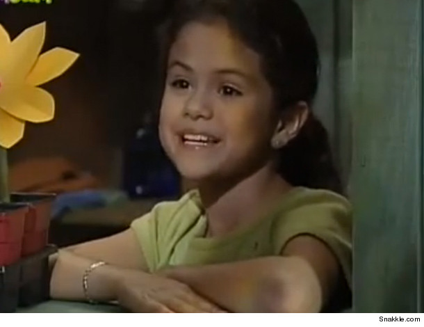 Selena Gomez Age 7