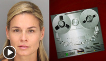 Cat Cora Post-Crash DUI 911 Call -- 'She Was Driving Insane'