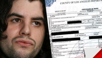 Sage Stallone Death Certificate -- Still Waiting for Answers
