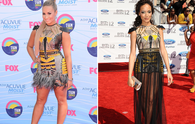 Dueling Desses: Demi Lovato vs. Selita Ebanks!