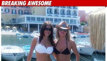 Sofia Vergara's Bikini Friend -- Horrible Decision!