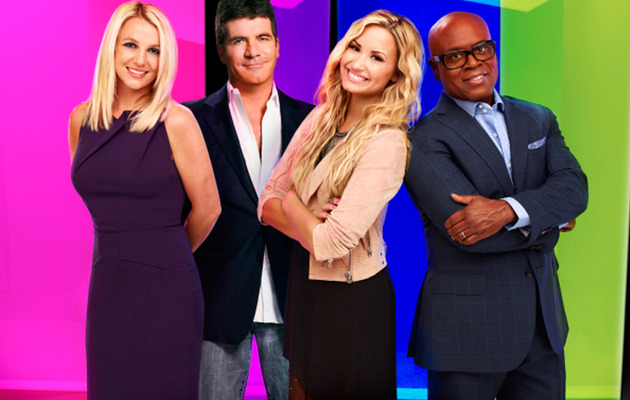 "Britney Spears Looks Hot in New ""X Factor"" Promo Pics!"