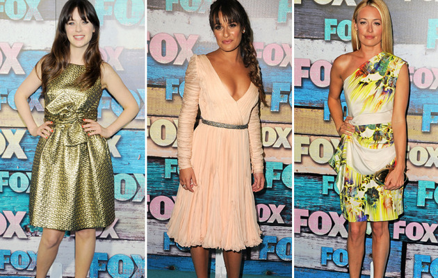 Lea Michele and More Stun at FOX All-Star Party!