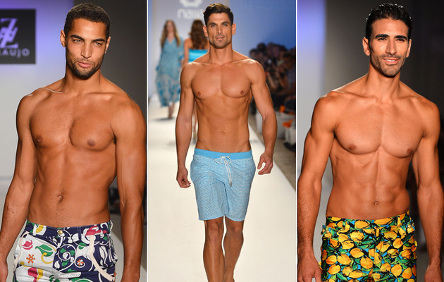 Guy Candy Alert -- Shirtless Male Models at Miami Fashion Week!