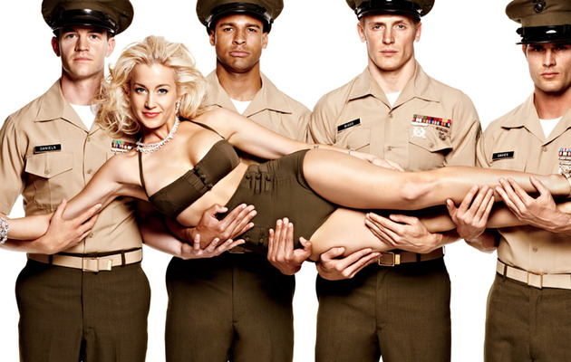Kellie Pickler Does Sexy Military-Themed Shoot for Maxim