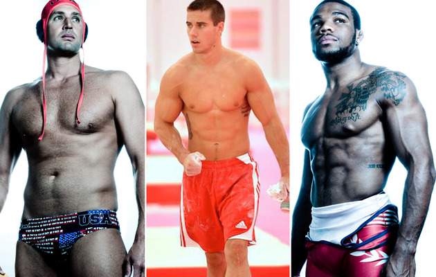 Gold Medal Hotties -- Team USA's Sexiest Male Olympians!