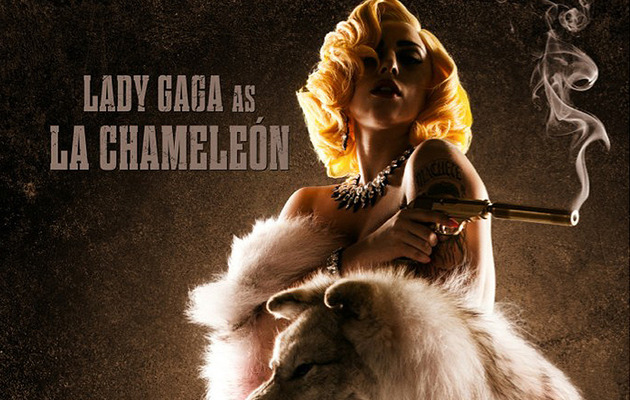 "Lady Gaga Nabs Role In ""Machete Kills"" -- See Her Hot Poster!"
