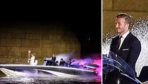 David Beckham -- Cruises Into Olympics Opening Ceremonies