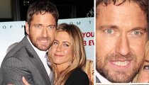 Gerard Butler & Jen Aniston Hug It Out