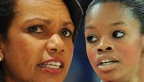Condoleezza Rice -- Gabby Douglas is an African-American Hero