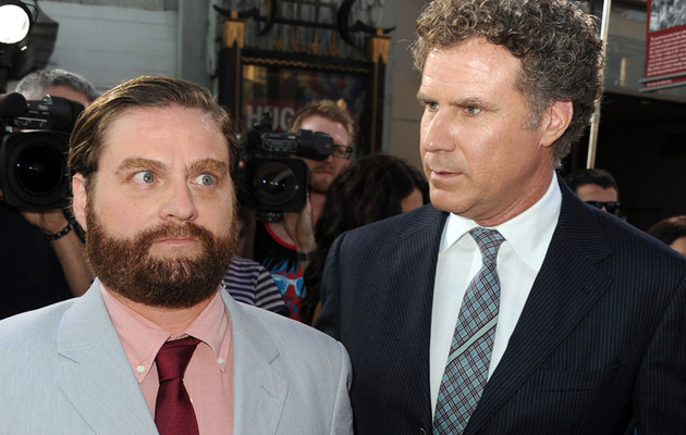 Will Ferrell and Zach Galifianakis -- The Great Debate in Funny or Die Skit!