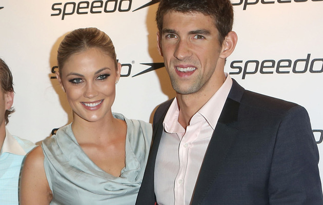 Michael Phelps Goes Public with Girlfriend Megan Rossee