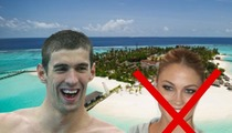 Michael Phelps DITCHING GF Megan Rossee to Bro Out on Tropical Island