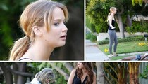'Hunger Games' Star Jennifer Lawrence -- 911 Emergency on My Front Lawn