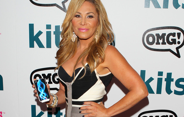 Adrienne Maloof Does First Red Carpet Since Split ... without Wedding Ring!