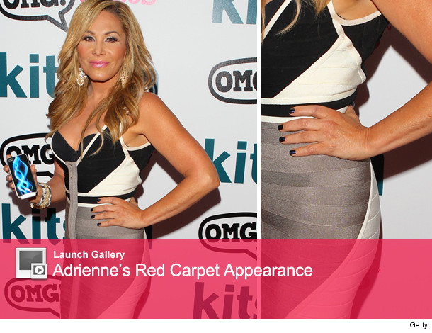 Adrienne Maloof Does First Red Carpet Since Split without