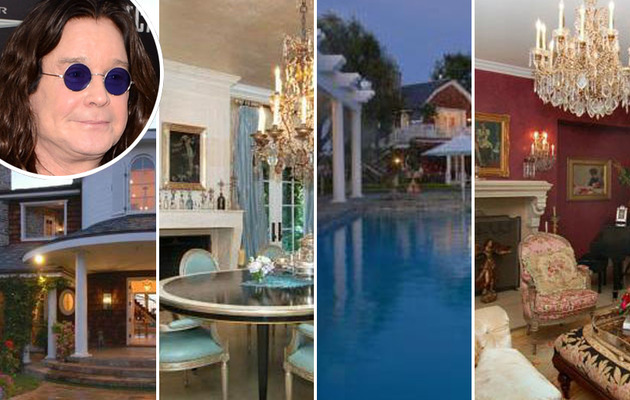 Ozzy Osbourne Leases His Hidden Hills Mansion!
