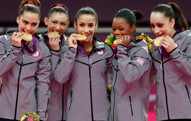 Photos: Olympic Athletes -- Hungry for Gold?