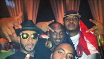 Nas -- Gold Medal Game Tix Were a Gift from Carmelo and LeBron