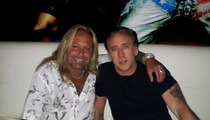 Nic Cage -- STRIP CLUBBIN' with Vince Neil