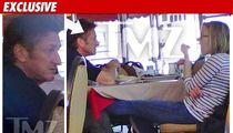 Sean Penn & Scarlett Johansson -- The Lunch Date