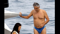 Andrea Bocelli's Speedo Vacation -- If Michael Phelps Can Do It ...