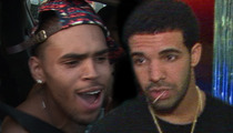 Chris Brown, Drake Sued in Nightclub Brawl -- You Guys Started It