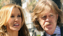 Felicity Huffman and William H. Macy -- Sued for Stairway 'Slip and Fall'