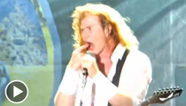 Megadeth Singer Dave Mustaine -- Barack Obama 'Staged' Aurora Shooting Massacre