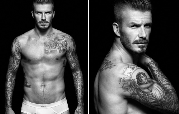 David Beckham: Back In His Underwear for H&M!