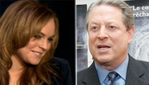 Gore Keeps Distance From Lohan
