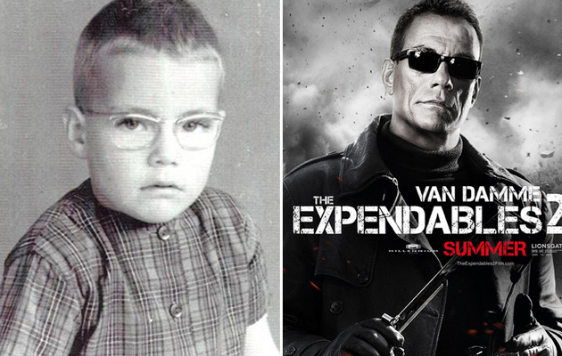 "See ""The Expendables 2"" Stars Before They Were Super Buff and Super Famous!"