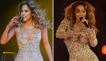 Nude Bodysuit Battle: J.Lo vs. Mel B -- Who'd You Rather?