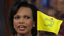 Augusta National Admits 1st Woman -- Condoleezza Rice!!
